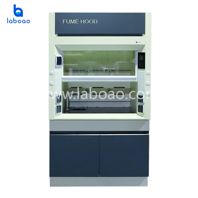 All steel laboratory fume hood