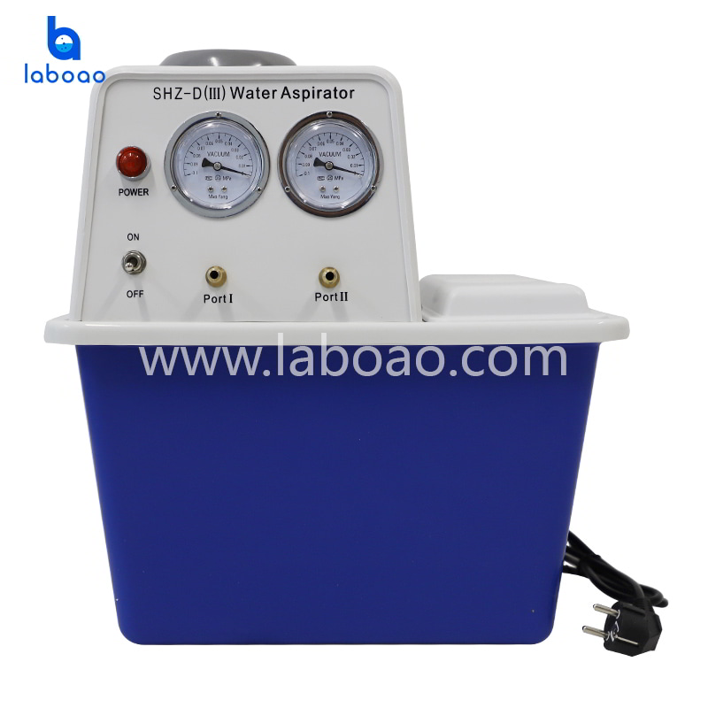 Benchtop water circulating vacuum pump