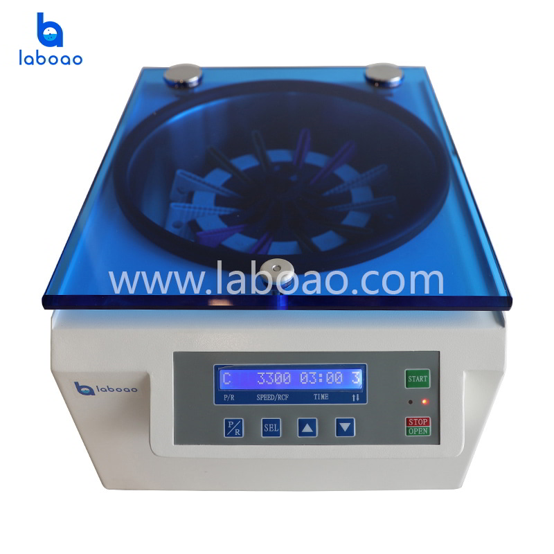 Blood card centrifuge