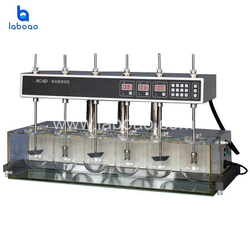 RC-6D dissolution tester with auto head lifting