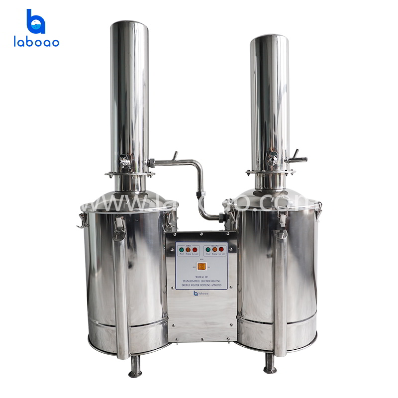 Dural distilling electric heating water distillation