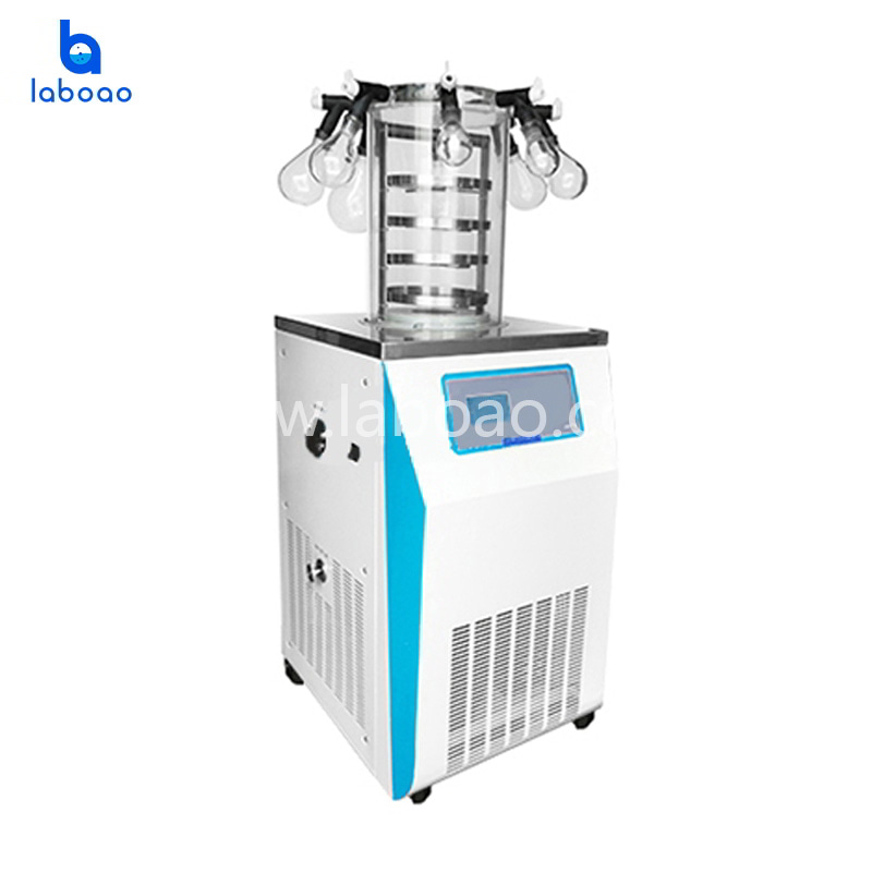 Electric heating manifold lab freeze dryer