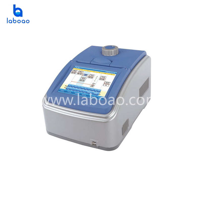 Intelligent six way thermal cycler reaction with color touch screen control