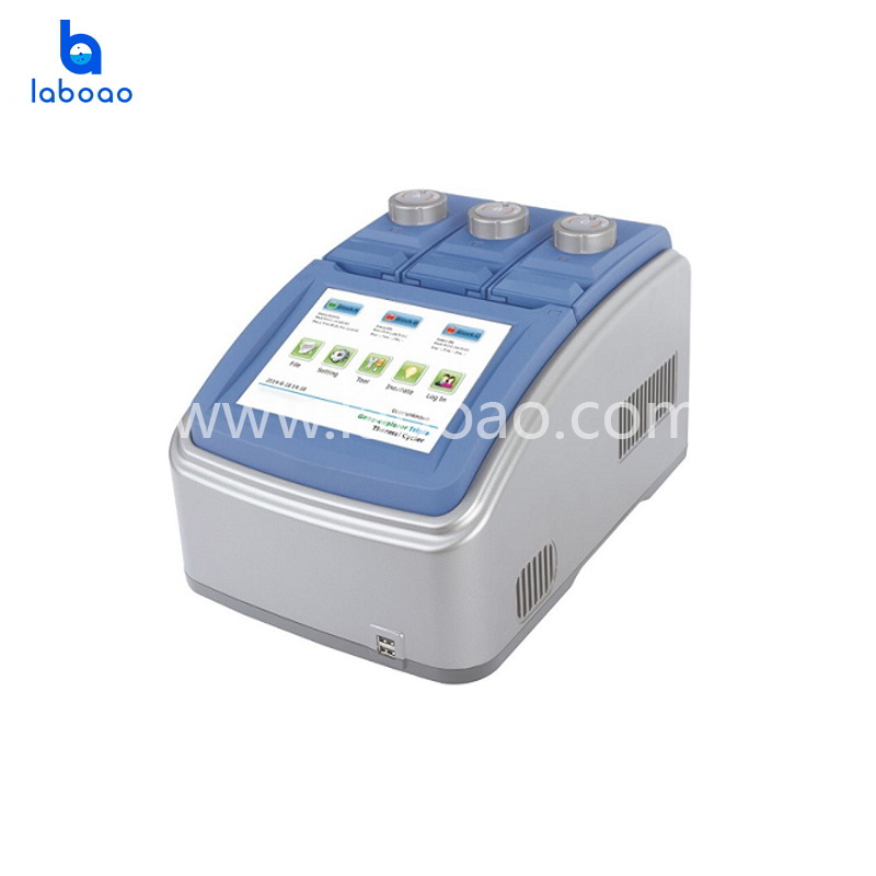 Intelligent three slot thermal cycler with printing function