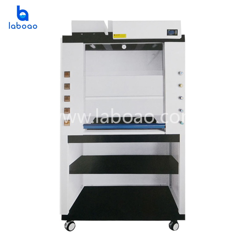 Laboratory smart ductless fume hood machine