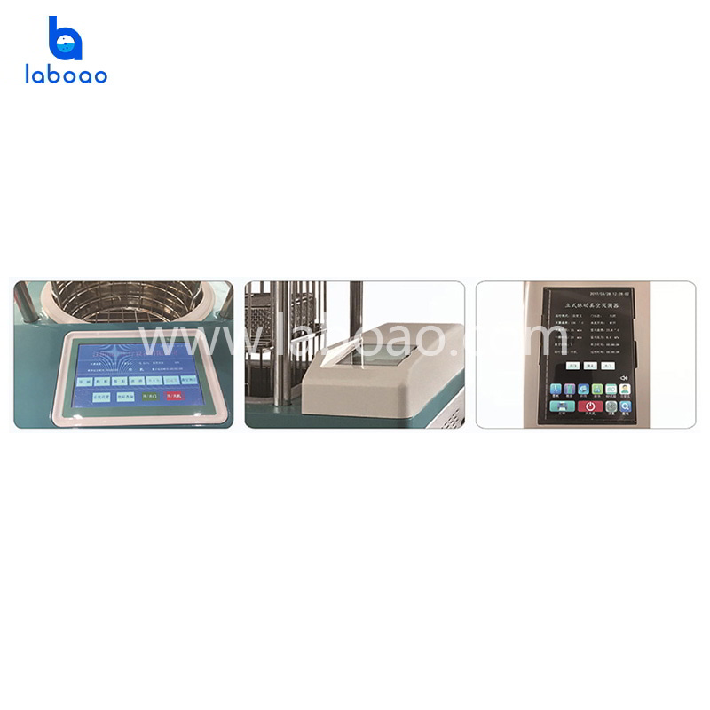Lifting pulse vacuum pressure steam sterilizer autoclave