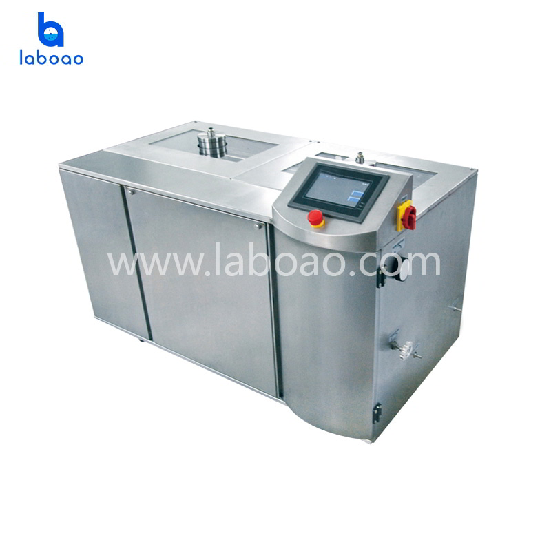 100L Low temperature ultra high pressure continuous flow cell crusher