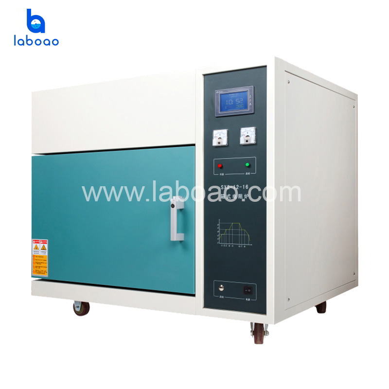 L-16TDP 1600°C muffle furnace with Ceramic fiber furnace
