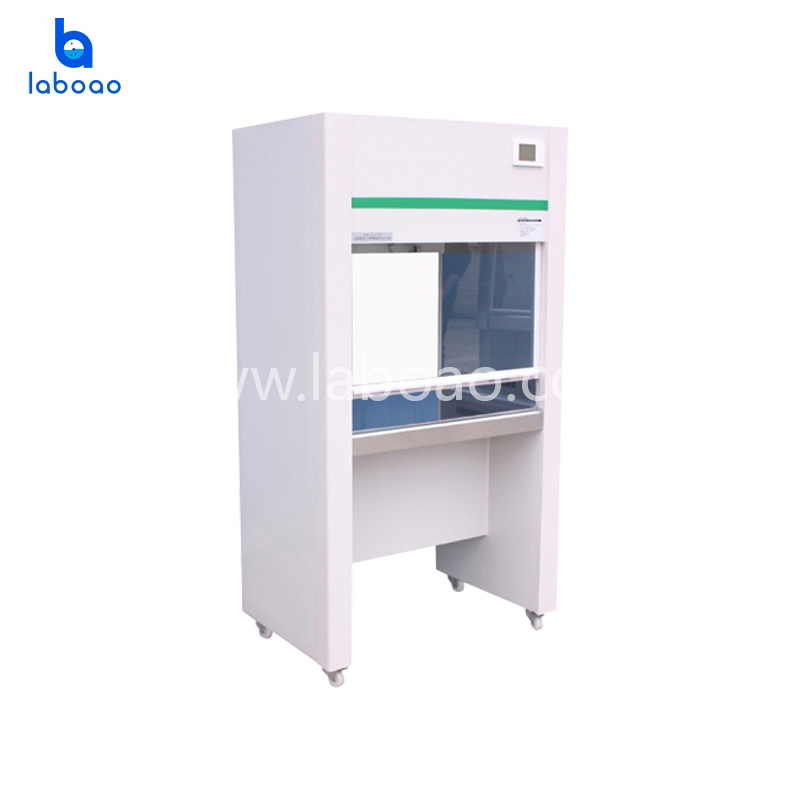 One side vertical air flow clean bench
