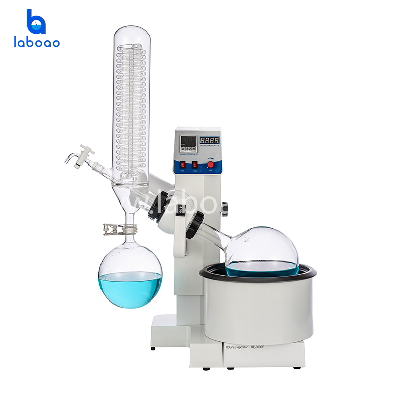 3L rotary evaporator with dual digital display