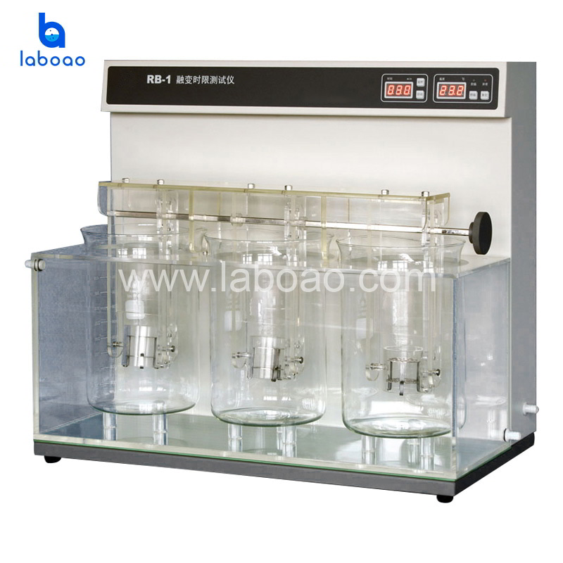 Thaw tester for suppository and tablet