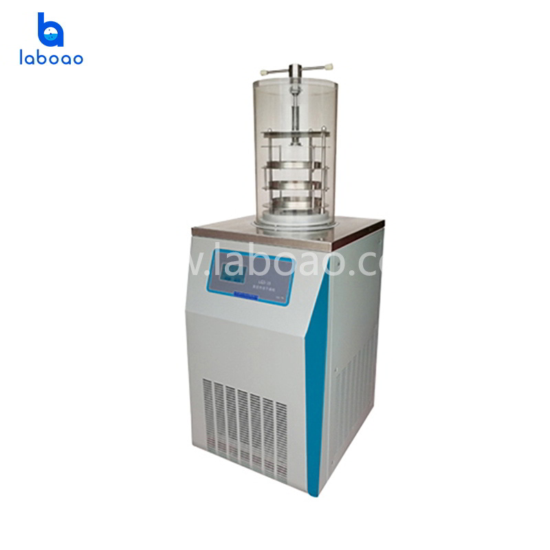 0.09㎡ top press lab freeze dryer