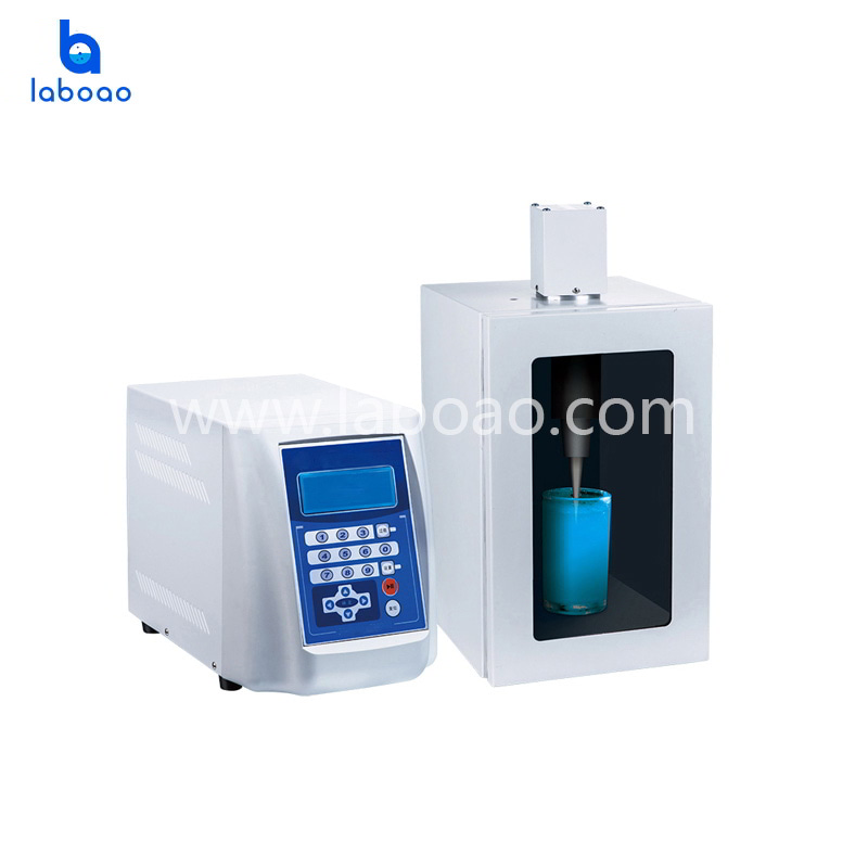 Ultrasonic Material Emulsifying Disperser machine for lab