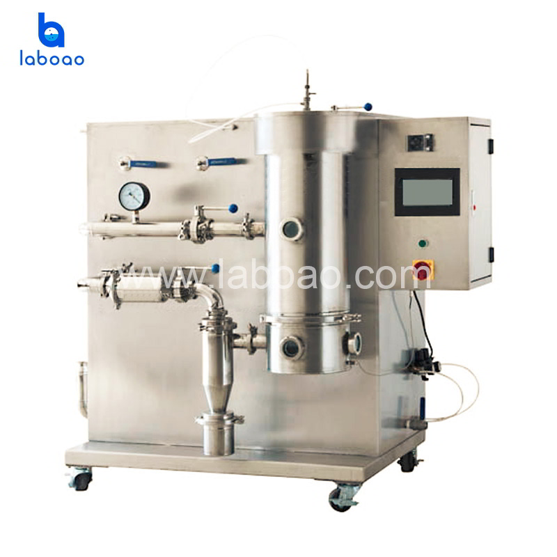 Vacuum spray freeze drying machine